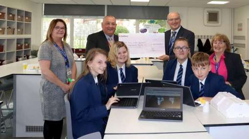 Image - £20,000 grant awarded to Carr Hill High School