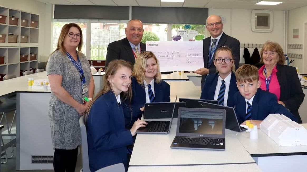 Image - story image - £20,000 grant awarded to Carr Hill High School